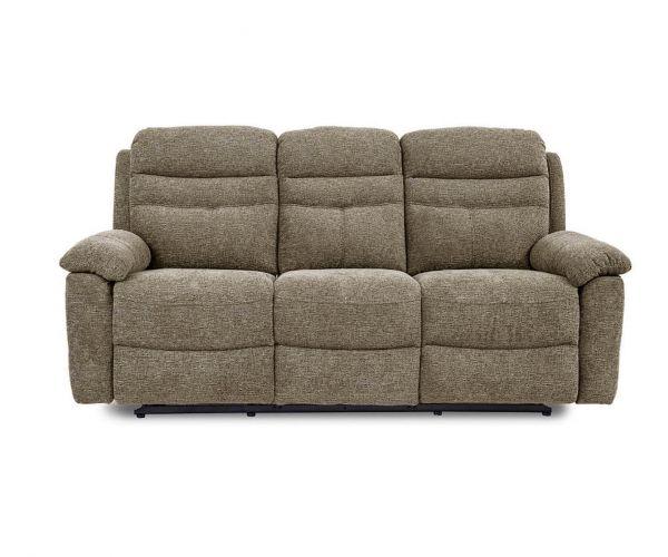 GFA Minnesota Granola Fabric 3 Seater Sofa