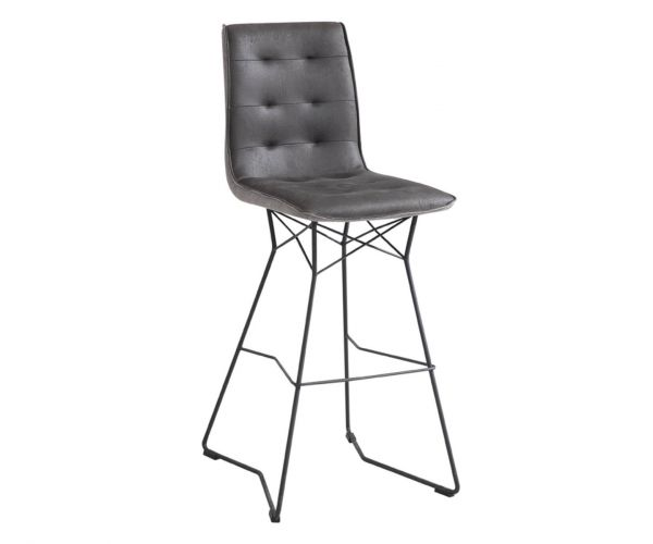 Vida Living Mirko Grey Bar Chair