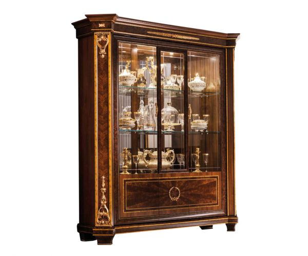 Arredoclassic Modigliani Italian 3 Door Display Cabinet