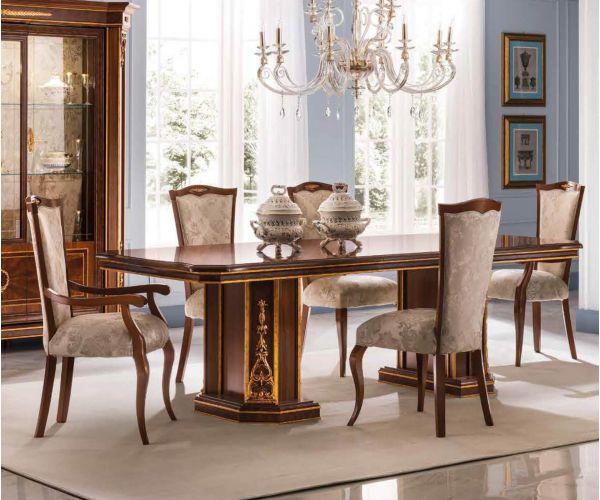 Arredoclassic Modigliani Italian Rectangular Extension Dining Table