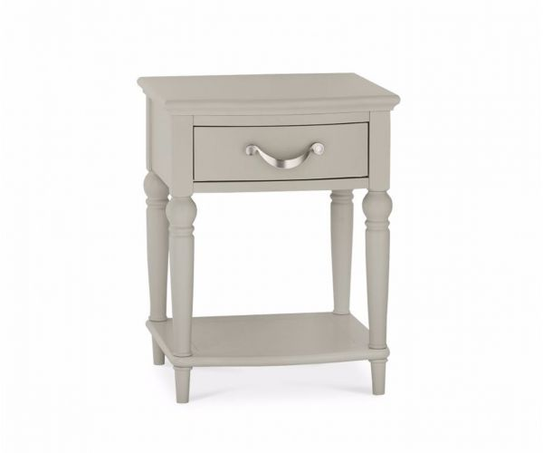 Bentley Designs Montreux Urban Grey 1 Drawer Nightstand