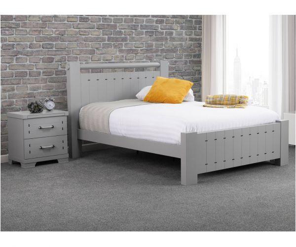 Sweet Dreams Dawson Grey Bed Frame