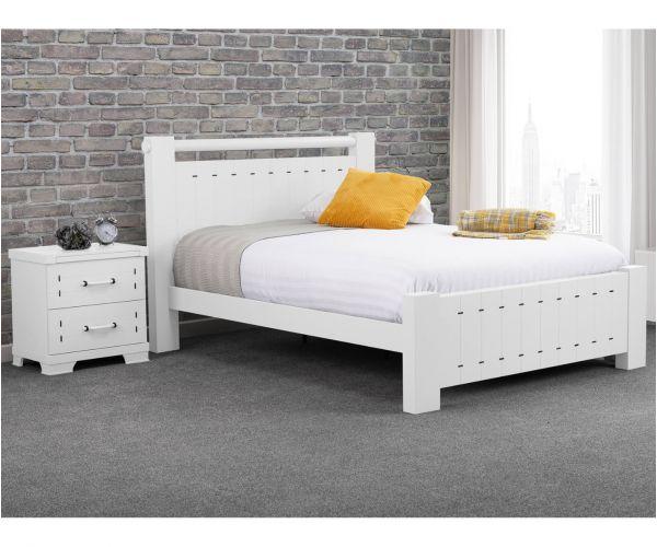 Sweet Dreams Dawson White Bed Frame
