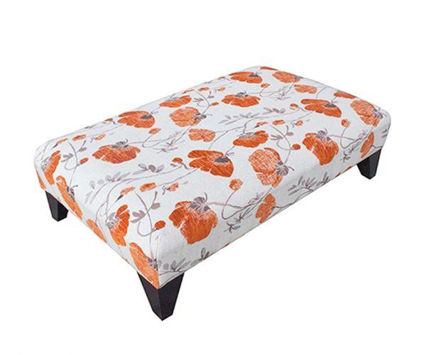 Buoyant Upholstery New Fenton Fabric Footstool