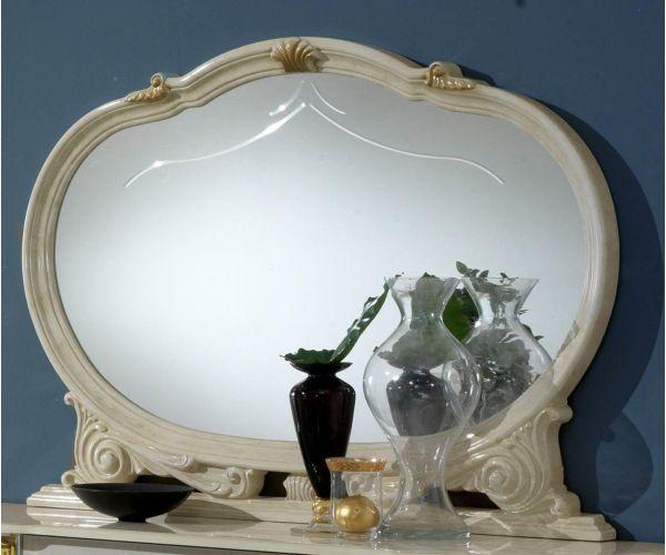 Ben Company New Venus Beige and Gold Italian Mirror