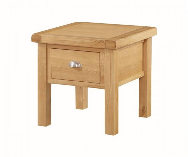 Annaghmore Newbridge Oak End Table with Drawer