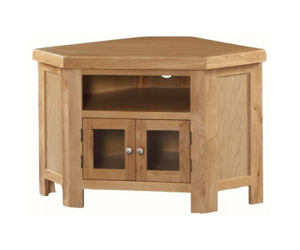 Annaghmore Newbridge Oak Corner TV Unit