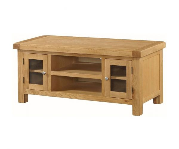 Annaghmore Newbridge Oak Large Straight TV Unit
