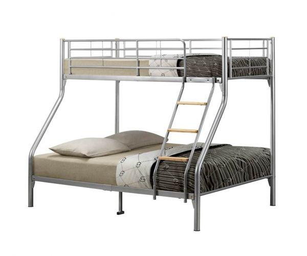 Birlea Furniture Nexus Silver Bunk Bed Frame