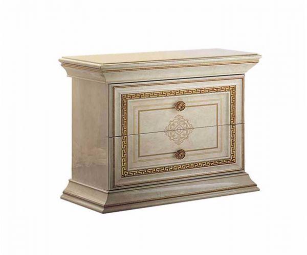 Arredoclassic Leonardo Italian 2 Drawer Night Table