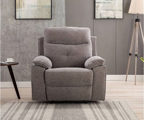 GFA Ohio Pewter Fabric Chair