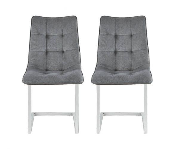 Derrys Furniture Ollie Navy Dining Chair in Pair