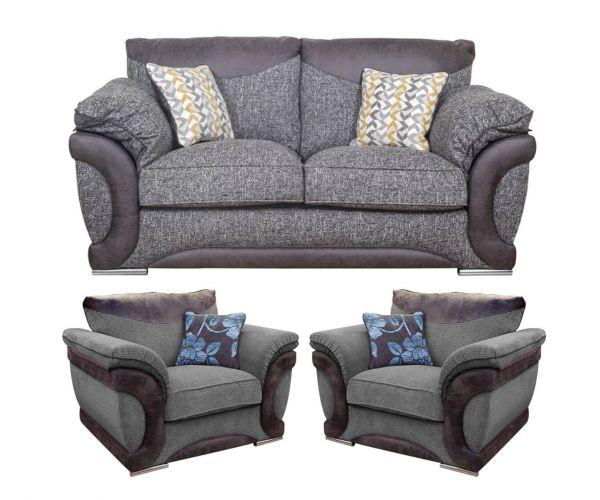 Buoyant Upholstery Omega 3+1+1 Standard Back Sofa Suite