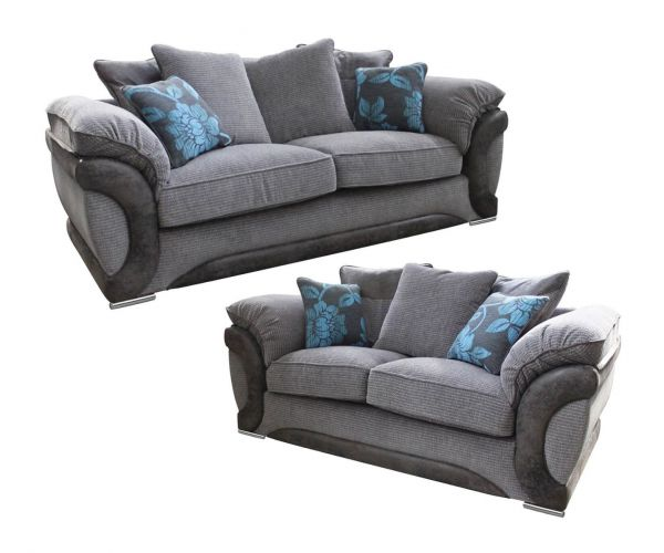 Buoyant Upholstery Omega 3+2 Pillow Back Sofa Suite