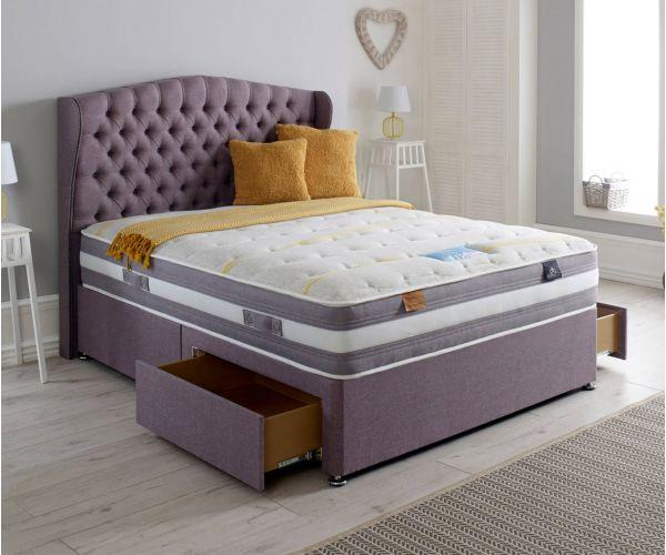 Dura Beds Cloud Lite Opulence 1500 Pocket Sprung Divan Bed Set