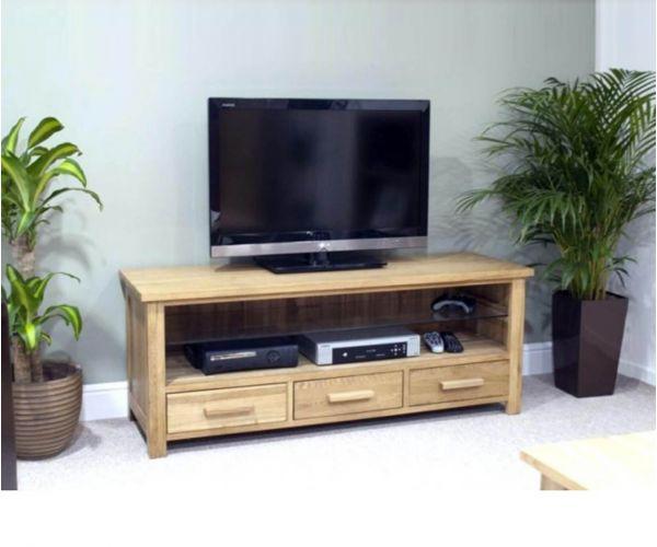 Homestyle GB Opus Oak Plasma TV Unit