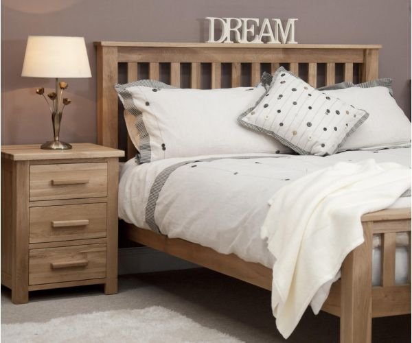 Homestyle GB Opus Oak Bed Frame
