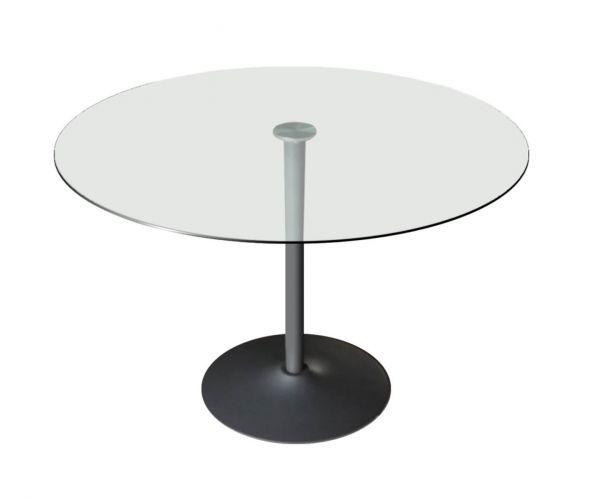 Vida Living Orbit Grey Dining Table Only