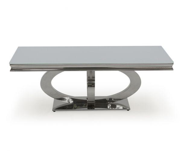 Vida Living Orion 130cm White Coffee Table
