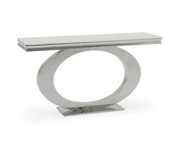 Vida Living Orion White Console Table