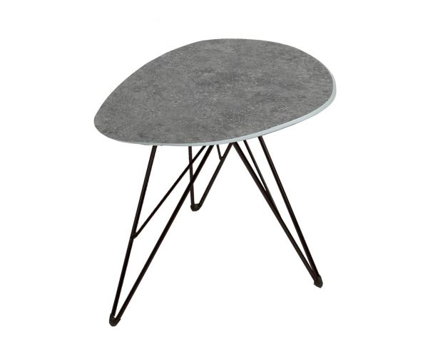 Vida Living Otto Triangle Lamp Table