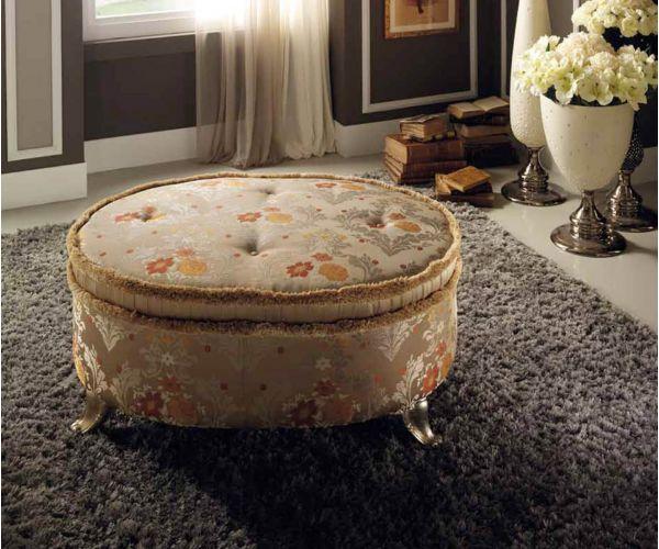 Arredoclassic Dolce Vita Italian Sofa Pouf