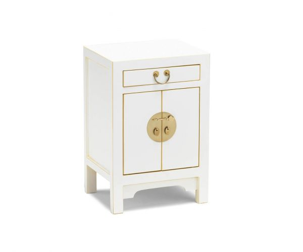 Baumhaus The Nine Schools Qing White Small Cabinet