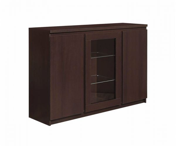 FTG Pello 3 Door Glazed Sideboard