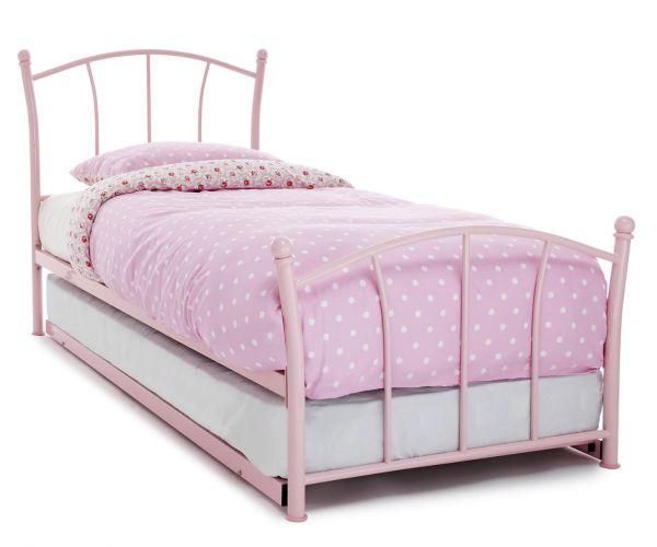 Serene Furnishings Penny Metal Guest Bed