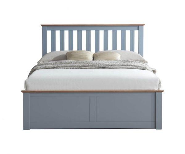 Birlea Furniture Phoenix Stone Grey Ottoman Bed Frame
