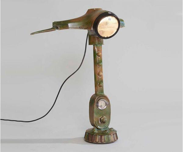 Indian Hub Priya Scooter Table Lamp