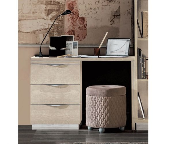 Camel Group Platinum Sand Birch Small Dressing Table