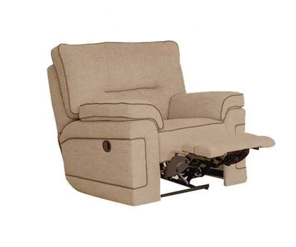 Buoyant Upholstery Plaza Fabric Recliner Armchair