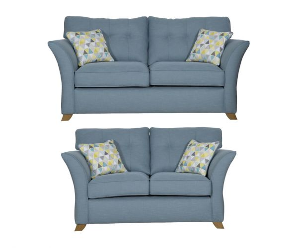 Buoyant Upholstery Portman Fabric 3+2 Sofa Suite