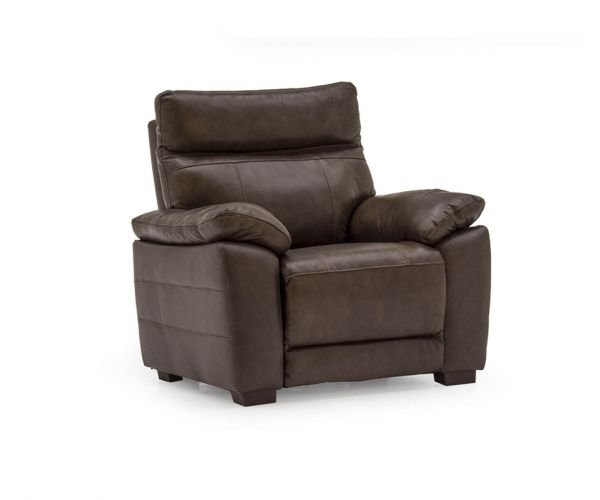 Vida Living Positano Recliner Brown Armchair