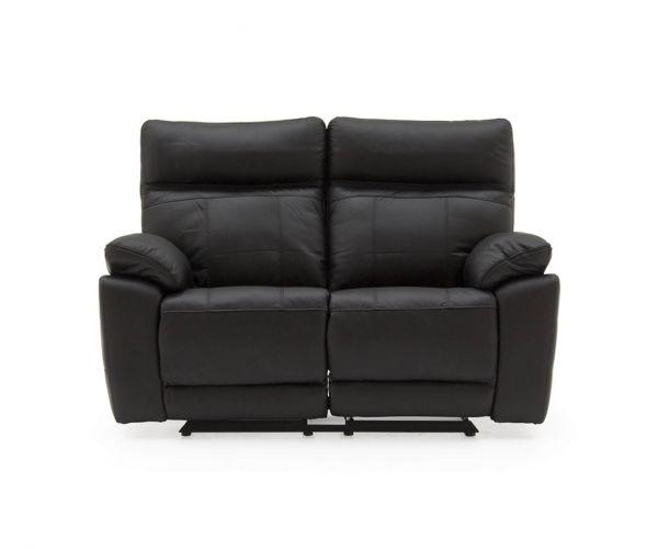 Vida Living Positano Black 2 Seater Sofa