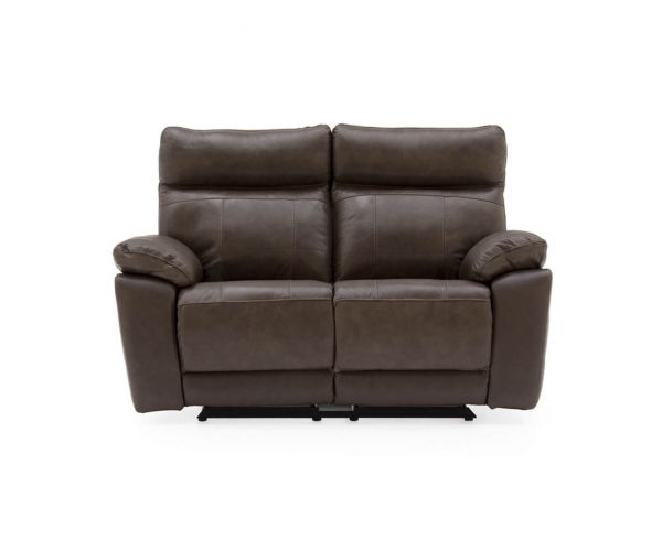Vida Living Positano Recliner Brown 2 Seater Sofa