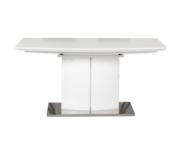 Furniture Line Prado White Extending Dining Table only