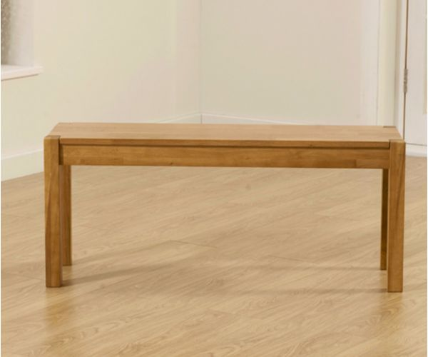 Mark Harris Promo Solid Oak Large Dining Bench