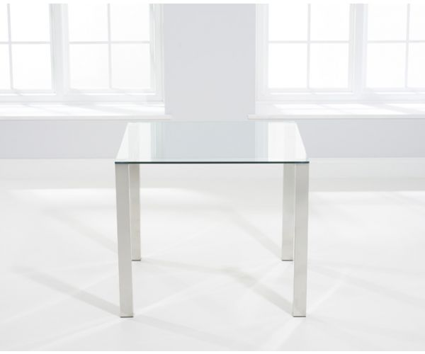 Mark Harris Sara Small Glass Dining Table Only