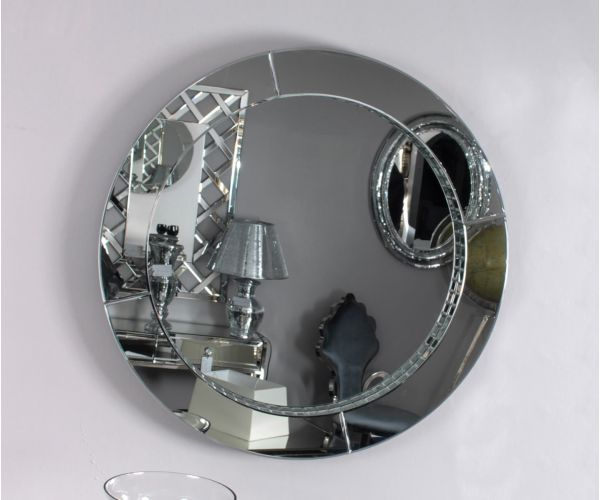 Derrys Furniture Brad Round Wall Mirror