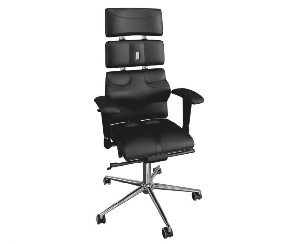 Kulik Pyramid Black Ergonomic Armchair