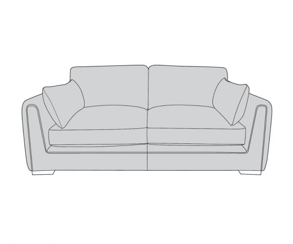 Buoyant Upholstery Queensbury 4 Seater Modular Sofa