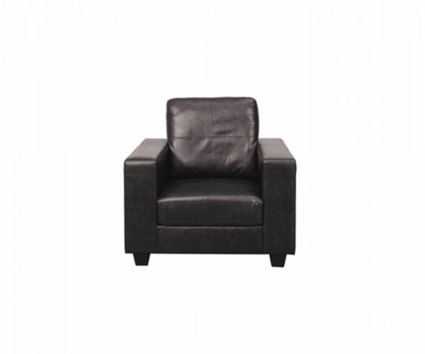 Annaghmore Queensbury Faux Leather Armchair