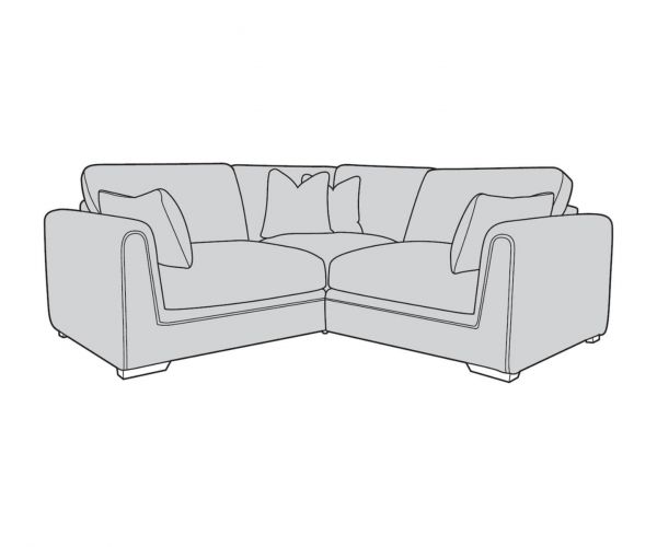 Buoyant Upholstery Queensbury Small Corner Sofa (L1, CO, R1)