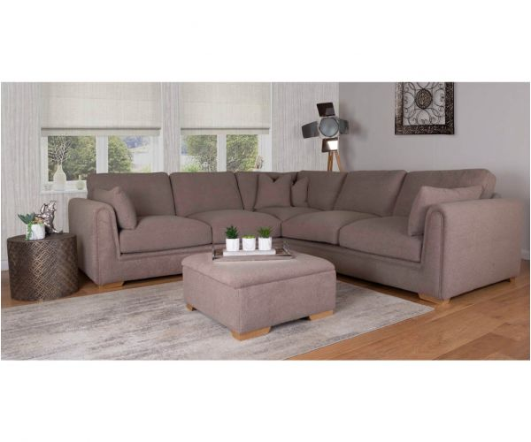 Buoyant Upholstery Queensbury Large Corner Sofa (L2, CO, R2)