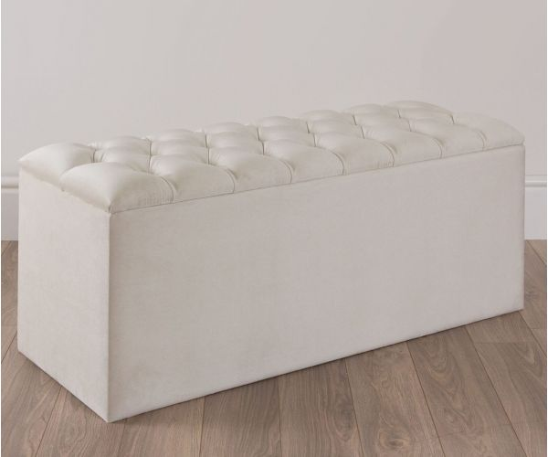 Swanglen Quilted Ottoman