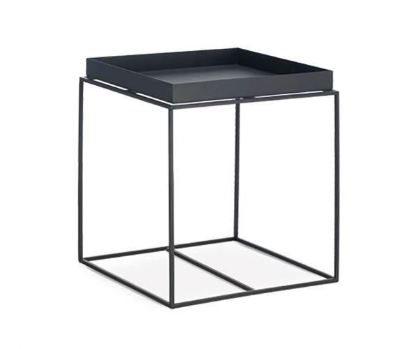 Vida Living Ragna Black Lamp Table