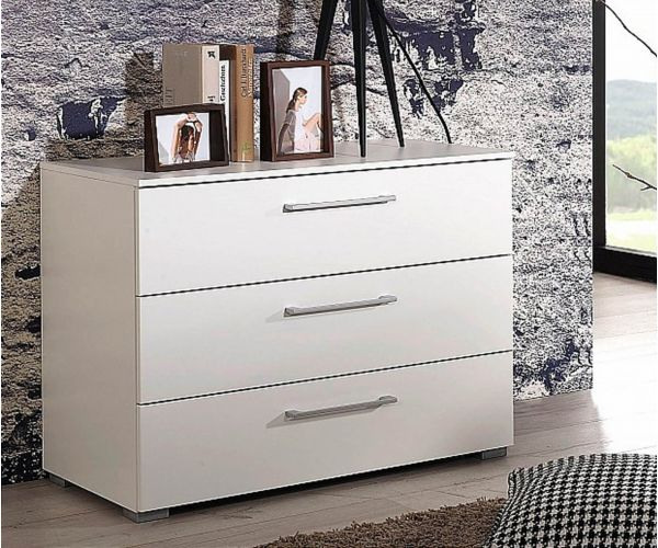Rauch Aldono Silk Grey Carcase 3 Drawer Chest
