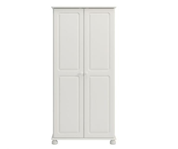 Steens Richmond White 2 Door Wardrobe